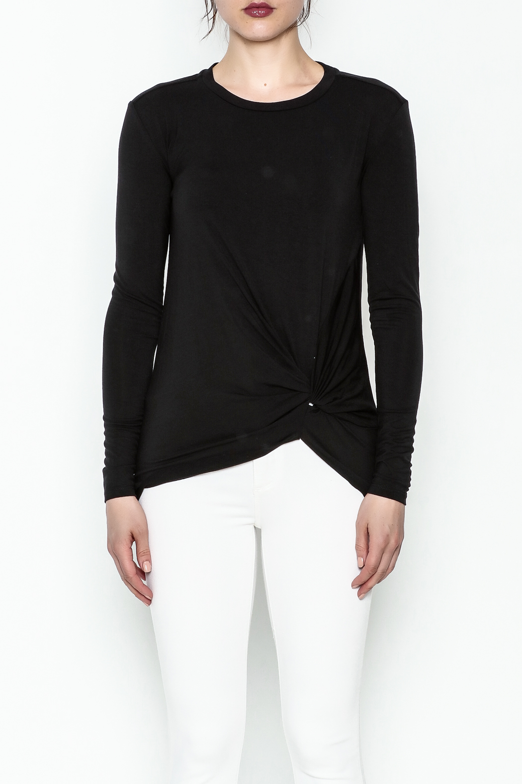 Laju Side Knot Tee - Front Full Image