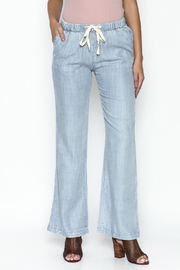 Laju Tencel Flare Jeans - Product Mini Image