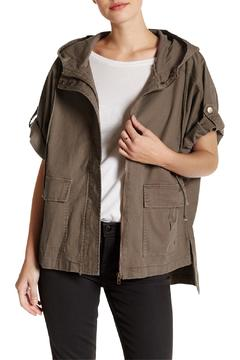 Shoptiques Product: Hooded Olive Jacket