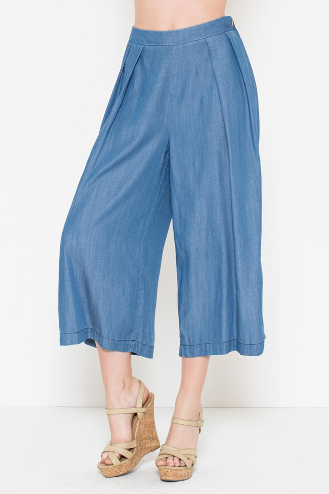 066dbceadee Laju Collection Tencel Culottes from Williamsburg by Fanaberie ...