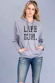 Carmelo Trend Lake Bum Hoodie - Front cropped