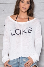 Wooden Ships Lake Cotton Crewneck - Product Mini Image