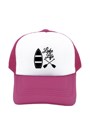 Outdoorable Apparel Lake Life Hat - Pink - Product Mini Image