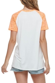Zutter Lake-Vibes Graphic Tee - Front full body