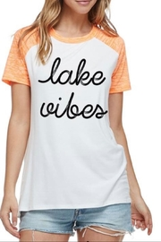 Zutter Lake-Vibes Graphic Tee - Product Mini Image