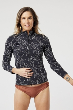 Carve Designs Lake Zip-Up Sun-Shirt - Product List Image