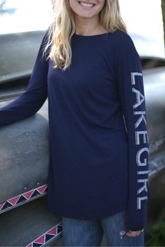 Shoptiques Product: Lakegirl Vented Tunic