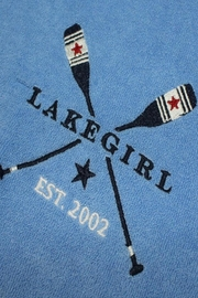 Lakegirl Patriotic Paddles Hoodie - Back cropped