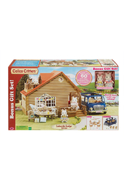 Calico Critters Lakeside Lodge Gift Set - Side cropped