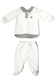 Lalalu Lalalù New born Top & Pant Layette set for Boy or Girls - Product Mini Image
