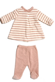 Lalalu Lalalù New born Top & Pant Cotton Pajama set for Baby infant toddlers Girl - Product Mini Image