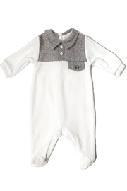 Lalalu Lalalù Newborn Cotton Onesie Footie For Baby Boy or Girl - Product Mini Image