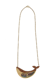 LaliBlue Pinocchio Necklace - Front cropped