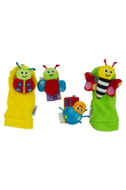 Lamaze Gardenbug Foot Set - Front cropped