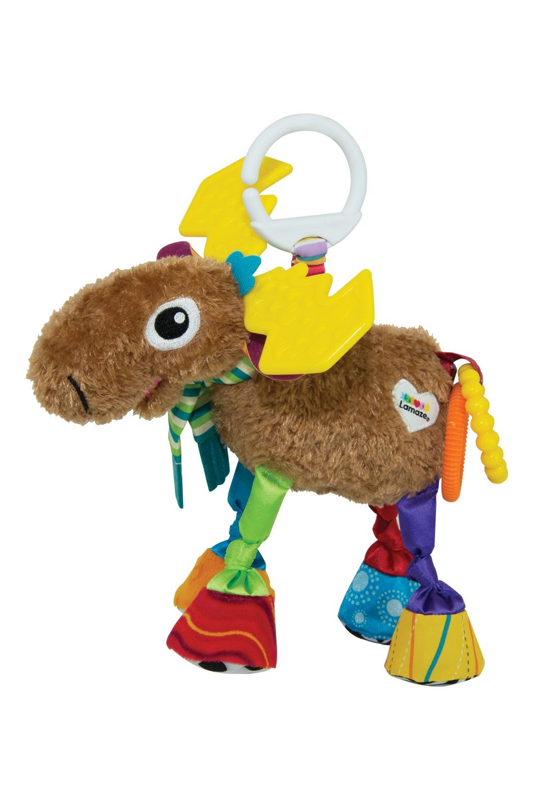 Lamaze Mortimer The Moose Toy - Front Cropped Image