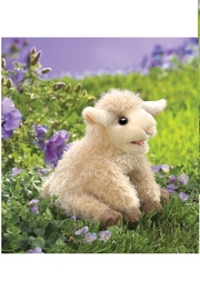 Folkmanis Lamb Hand Puppet - Side cropped