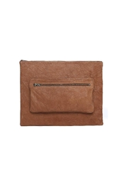 One Fated Knight Lamb Leather Oversize Pouch - Product Mini Image