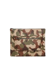 One Fated Knight Lamb Leather Oversize Pouch - Front cropped