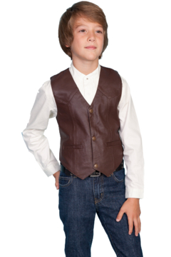 Scully Lambskin Kids Vest - Product List Image