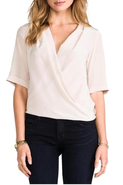 Amanda Uprichard Lana Drape Blouse - Alternate List Image