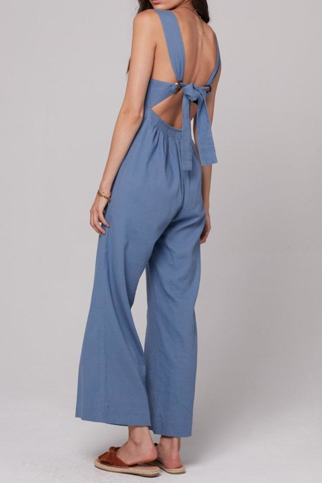 Knot Sisters Lana Jumpsuit - Front Full Image