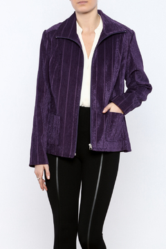 Lana Lee Chenille Zippered Jacket - Product List Image