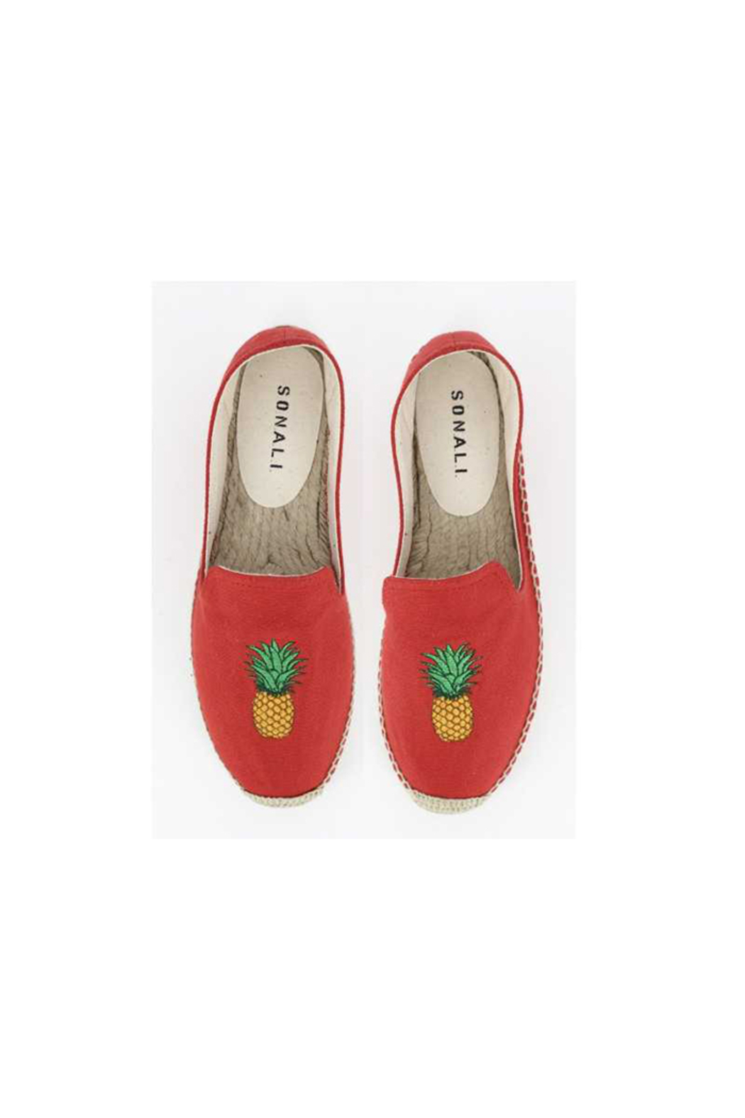 S.O.N.A.L.I. Lana Pineapple Shoe - Front Cropped Image