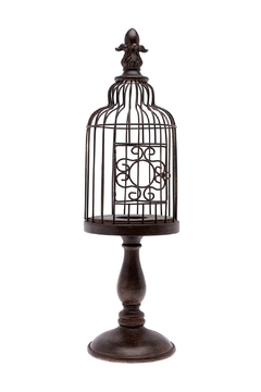 Shoptiques Product: Large Bird Cage Finial