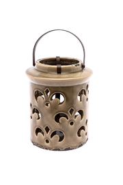 Lancaster House Ceramic Lantern - Front full body