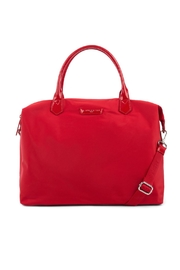 Lancaster-Paris Red Basic Verni - Front cropped