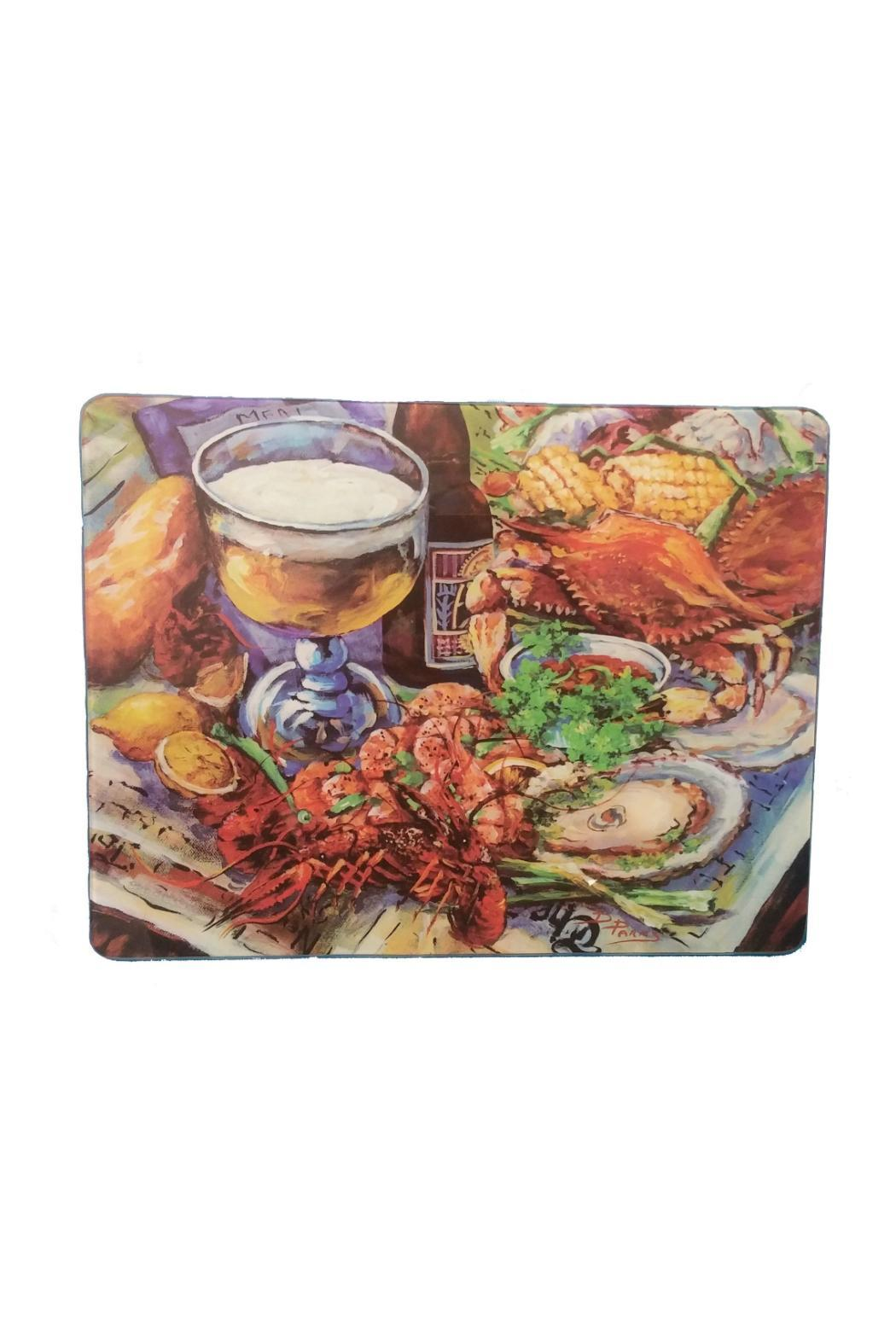Lancaster House Glass Cutting Board - Main Image