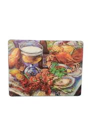 Lancaster House Glass Cutting Board - Front cropped