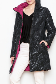 Landi Reversible Puffer Coat - Product Mini Image