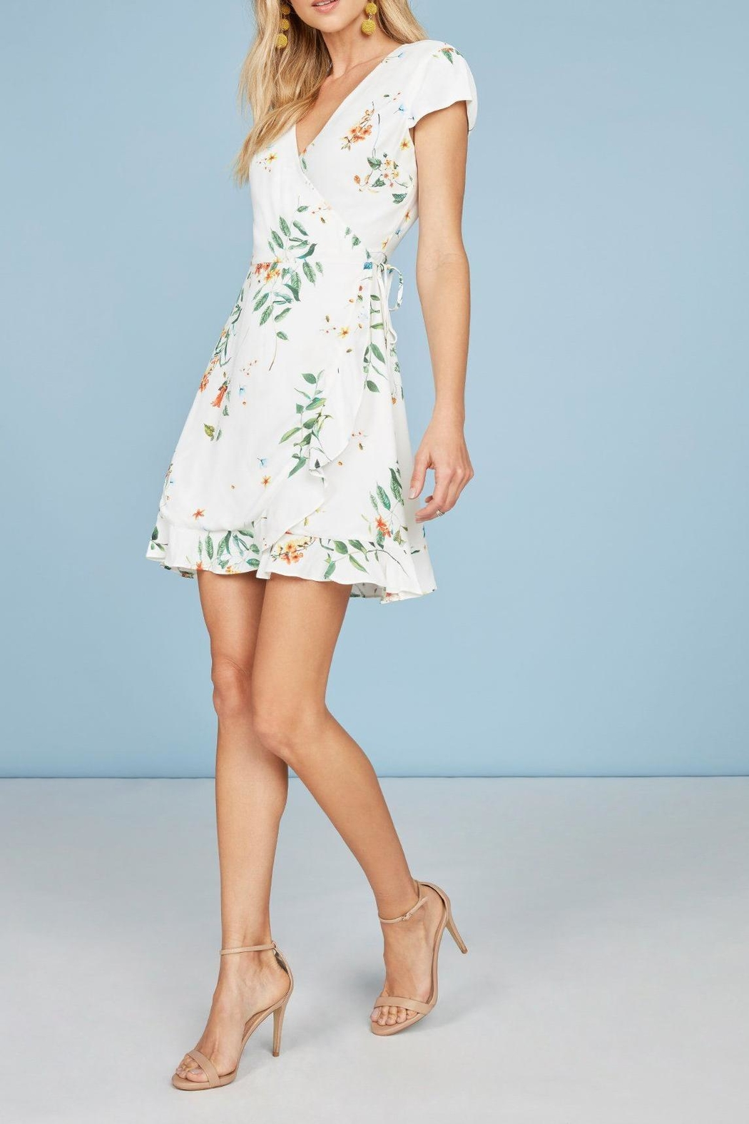 Willow & Clay Landon Floral Wrap-Dress - Main Image