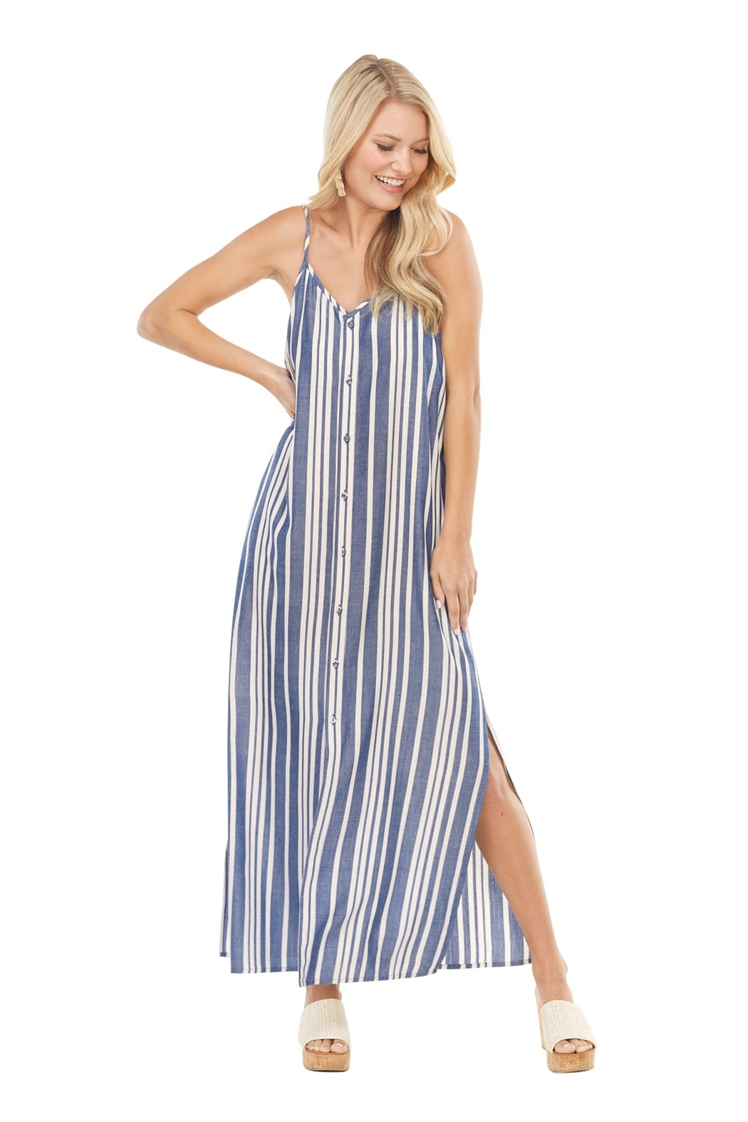 Mud Pie  Lane Maxi Dress - Front Cropped Image
