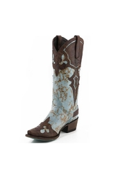 Lane Boots #1 Turquoise Boot - Product Mini Image