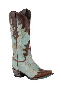 Lane Boots #1 Turquoise Boot - Product List Image