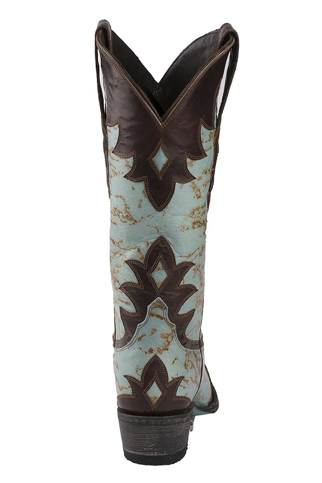 Lane Boots Diamond Dust Boot - Back Cropped Image