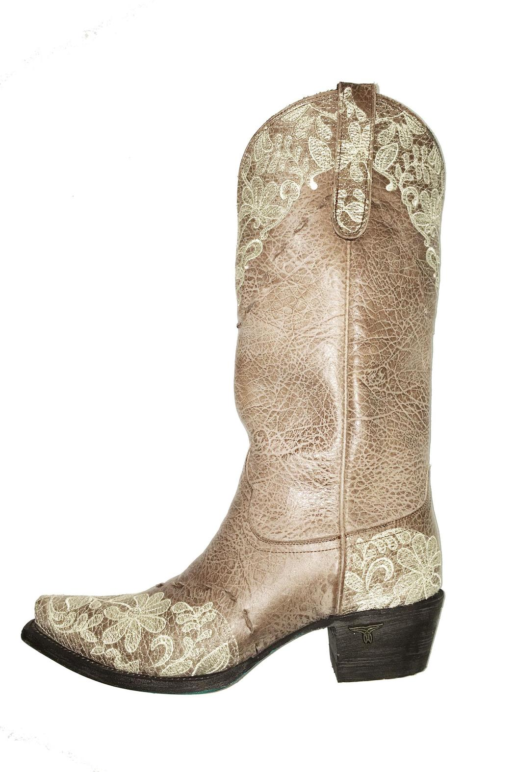 57967a3797a Lane Boots Jeni Lace Boot from Wyoming by Allure Boutique — Shoptiques