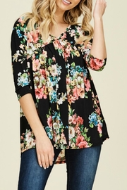 annabelle Laney Floral Top - Product Mini Image
