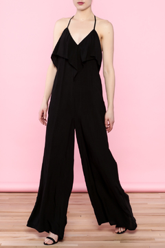 Shoptiques Product: Black Sleek Jumpsuit