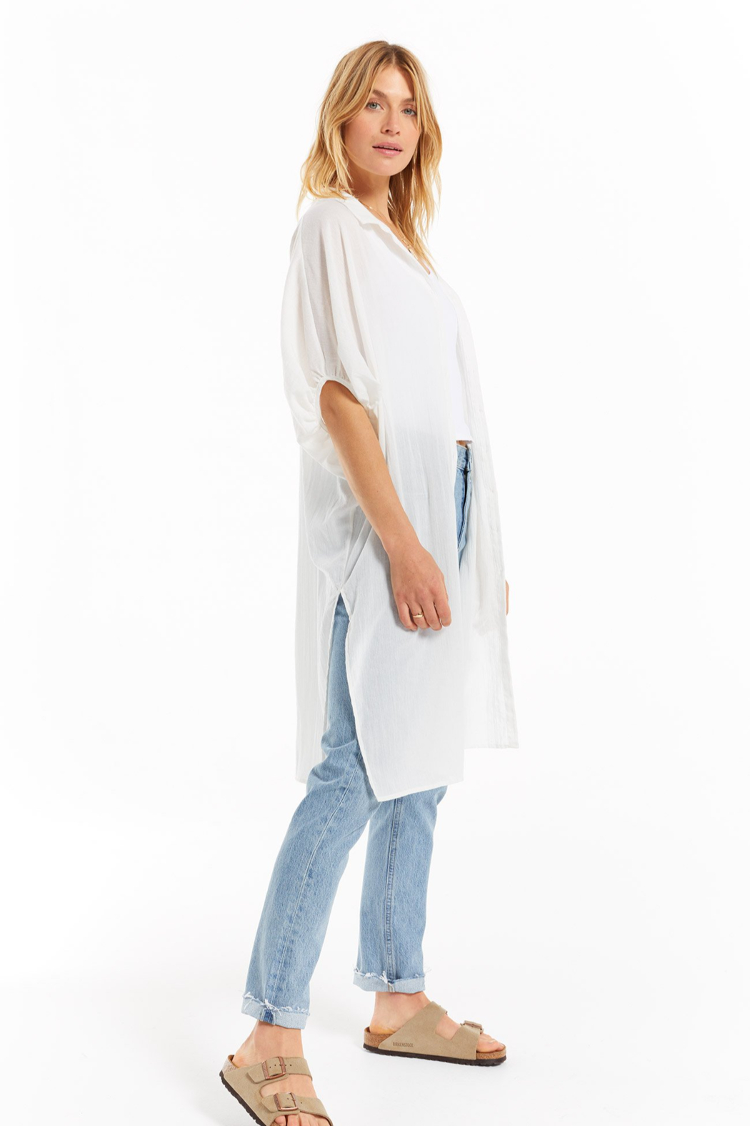 z supply Lania Maxi Cover Up - Front Full Image