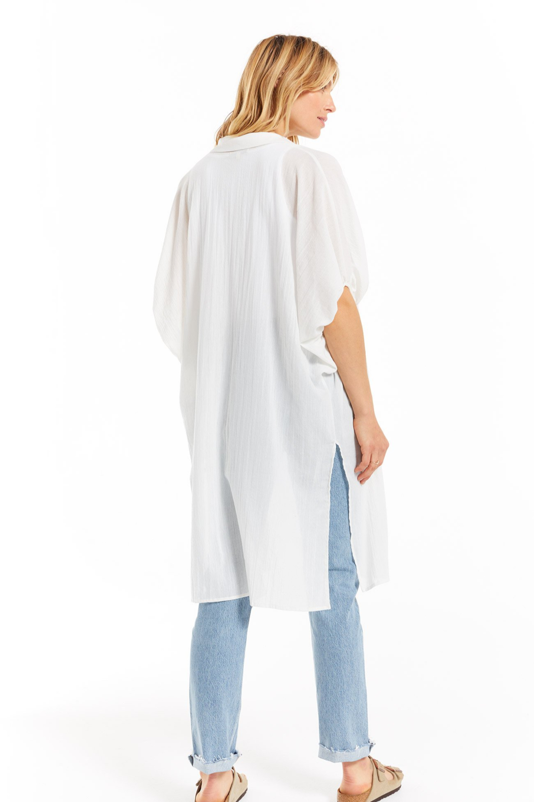 z supply Lania Maxi Cover Up - Side Cropped Image