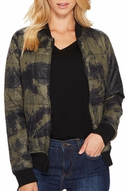 Lanston Camo Bomber - Front cropped