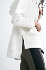 Lanston Layered Zip Up - Front full body