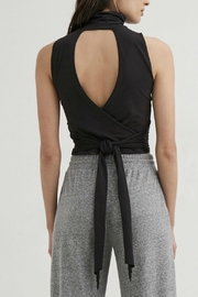 Lanston Wrap Back Turtleneck - Front full body