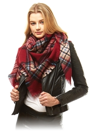 Laon Fashion Corp Blanket Scarf - Front cropped