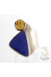 CDO  Lapis Druzy Ring - Product Mini Image