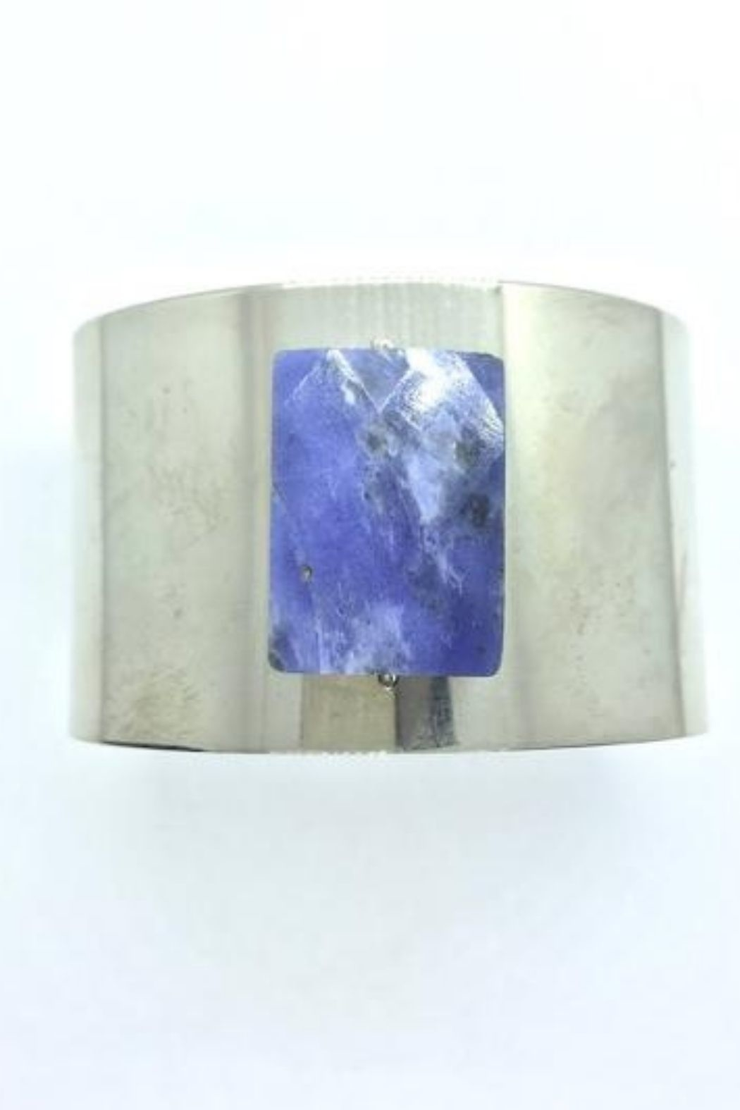 Lotus Jewelry Studio Lapis Faceted Stone Cuff - Front Full Image