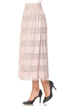 Shoptiques Product: Lacy Belted Skirt